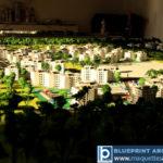 Grande maquette promotion immobilière