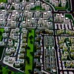maquette de ensemble immobilier