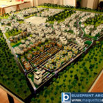 Maquette de programme immobilier