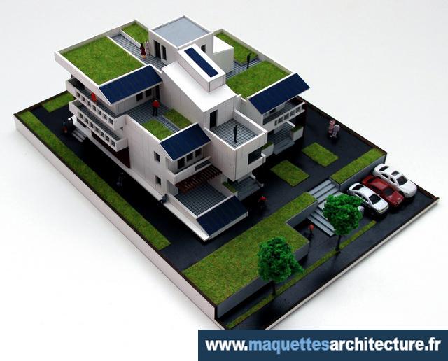 Maquette Maison Ecologique Maquettes D Architecture