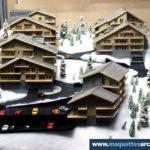 Maquettes Chalets alpins