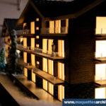 Maquette Chalets alpins