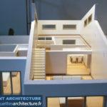 maquette architecturale démontable maison