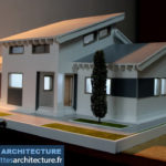 maquette d'une maison