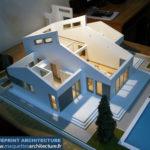 une maquette démontable de maison