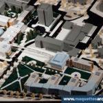 Maquette d'architecture université Physique