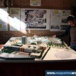 Maquette d'urbanisme Faculté de Physique