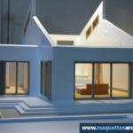 Maquette architecturale démontable - Maison (12)