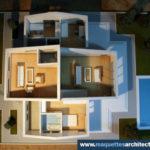 maquette d'architecture de maison