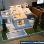 maquette d'architecture démontable Maison