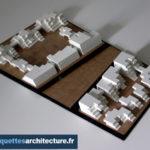 Maquette volumétrique résidentielle