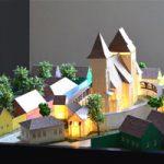 maquette L'église médiévale