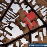 maquette d'urbanisme
