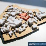 maquette d'urbanisme,