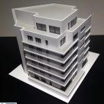 Maquette architecturale immeuble bureaux