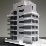 Maquette architecturale immeuble