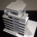 Maquette immeuble des bureaux
