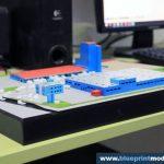 Maquette centrale électrique Adeplast