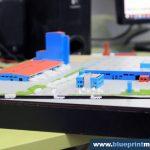 Maquette de centrale électrique Adeplast