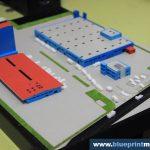 Maquette architecturale centrale électrique