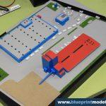 Maquette de centrale électrique