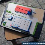 centrale électrique maquette