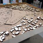 La maquette d'urbanisme