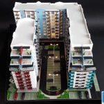 maquettes d'architecture pour la promotion immobilière
