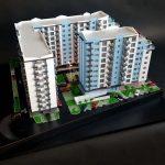 Maquette architecturale Promotion immobilière
