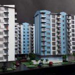 maquette de Résidence promotion immobilière