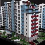 maquette de Résidence pour promotion immobilière