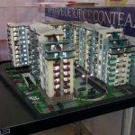 Maquette architecturale de résidence immobilière