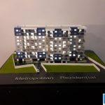 Maquette architecturale programme immobilier