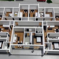 Maquette architecturale des détails