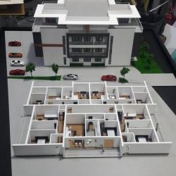 Maquette architecturale du bâtiment