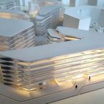 Maquettes promotion immeubles bureaux