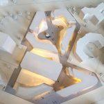 Maquettes d'urbanisme Immeuble de bureaux