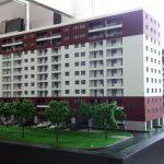 Maquette d'appartements pour Promotion