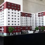 Maquettes architecturales création d'appartements