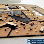Maquette conceptuelle un centre thermal