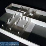 maquette conceptuel Espace Exposition
