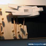 Maquette d'étude Musée de la Marine