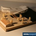 Maquette d'étude Musée Marine