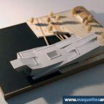 maquette conceptuelle Musée de la Marine