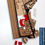 Maquette d'étude construction urbaine