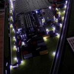Maquette installations industrielles
