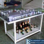 Maquette industriel Usine biere