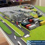 Maquette site industriel