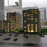 maquette de programme immobilier Forte Partners