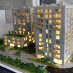 maquette d'architecture programme immobilier